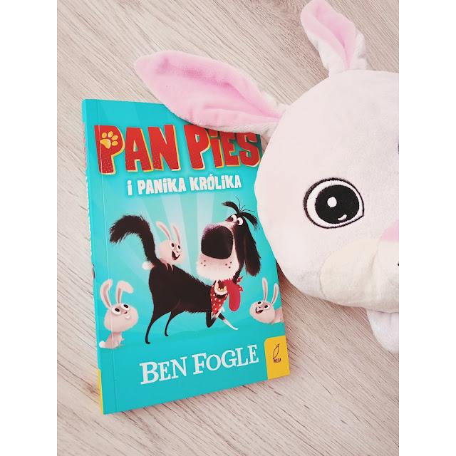 Pan Pies i panika Królika czyli emocjonująca opowieść ze zwierzęcym światem w tle