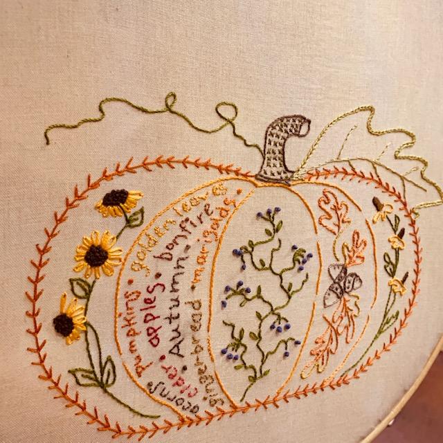 Halloween Pumpkin Bobby Socks Embroidered Appliques Womens Novelty Socks 9-11
