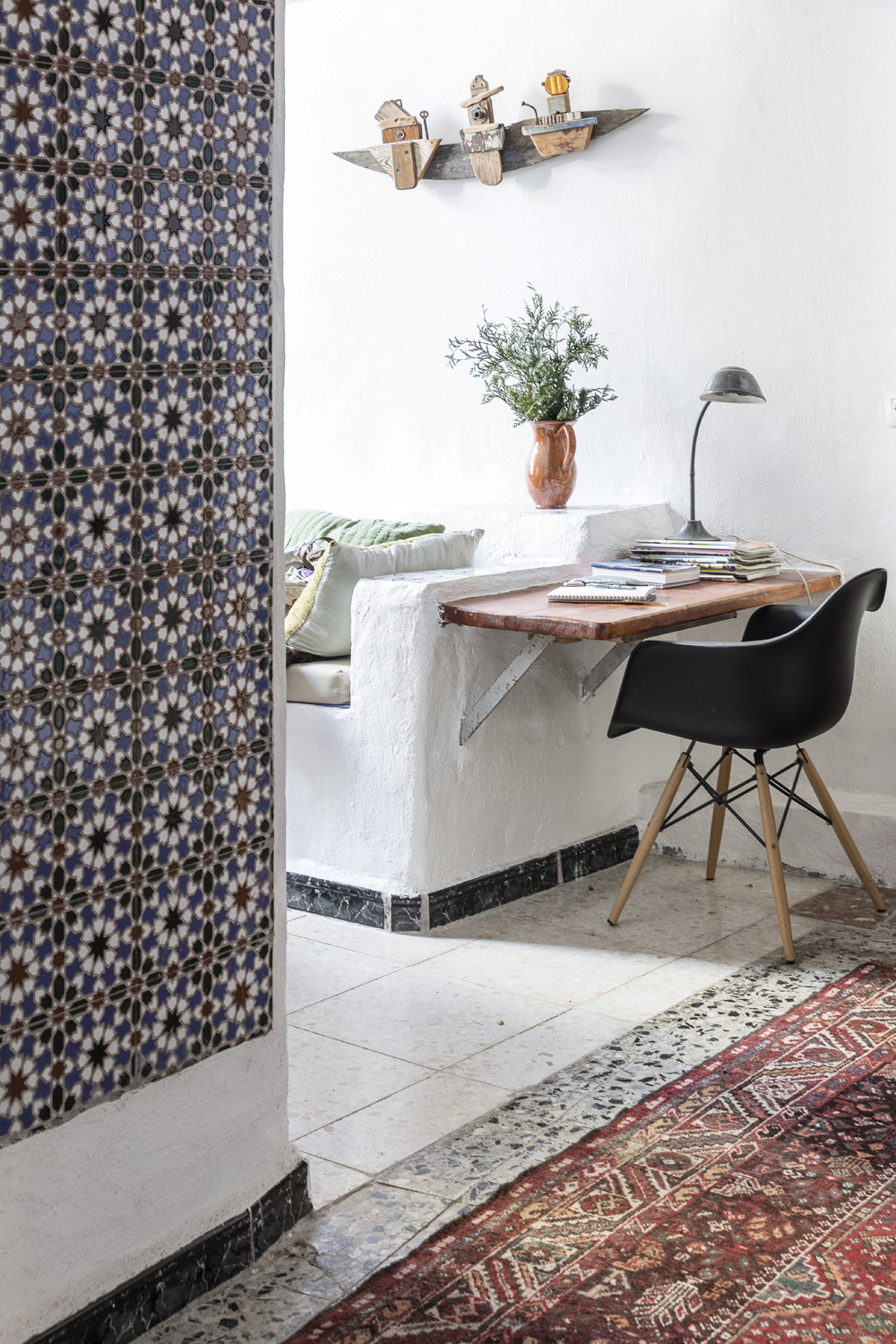 Canillas de Aceituno, Spain, holiday, rent, apartment, townhouse, rental, vacationhome, home, interior, spanish, style, interiorphotography, interior design, photographer, Frida Steiner, Visualaddict, visualaddictfrida,, tiles, workspace