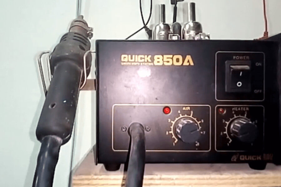 Cara menggunakan solder uap (blower)