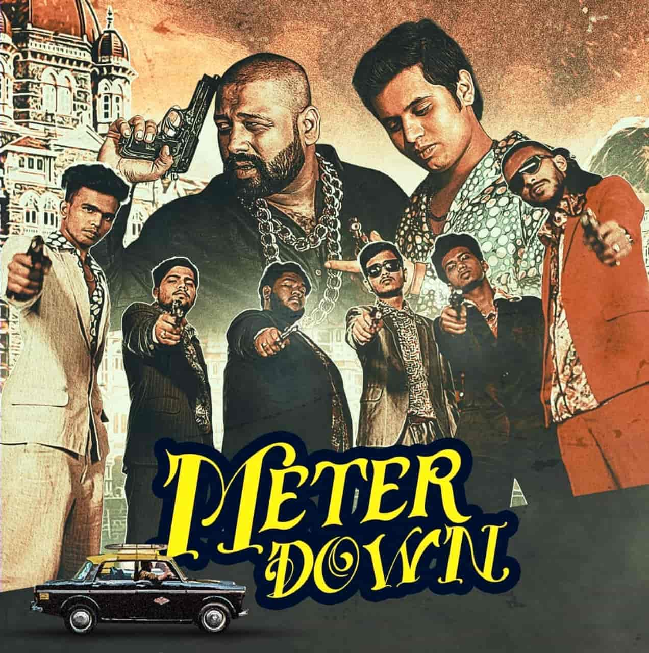 Meter Down Rap Song Image Features Kaam Bhaari and 7Bantai'Z