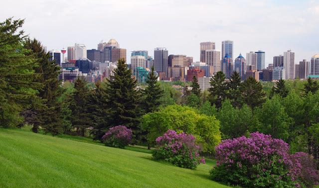 Primavera em Calgary