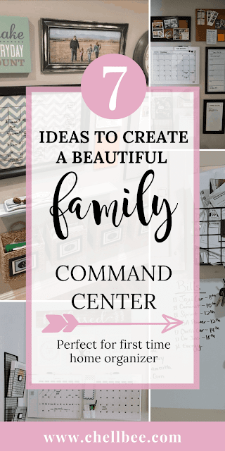 Command Center Family | Discover these 7 must have to create a family command center. These beautiful command center ideas will help you get your family organized! command center family organizing ideas | organization station | command center | declutter #commandcenter #organization #mailorganizing #homeorganization