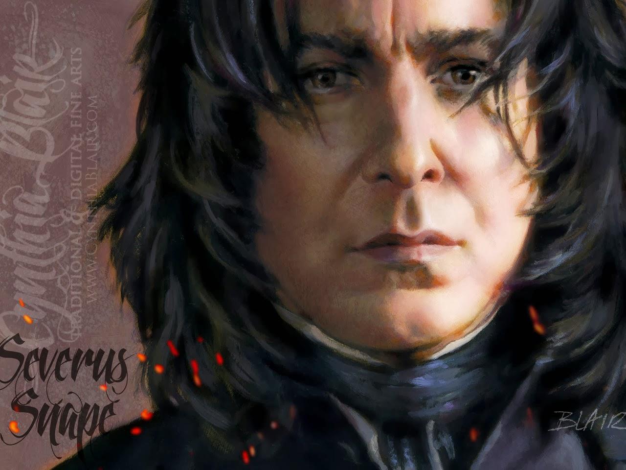 Free Desktop Wallpaper Severus Snape Wallpaper