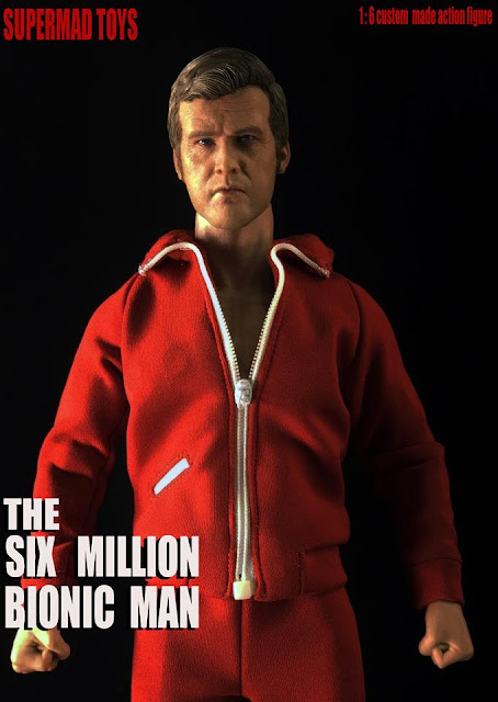 osw.zone Supermadosys 1/6 Scale Six Million Bionic Man Collector - Lee Majors as Steve Austin