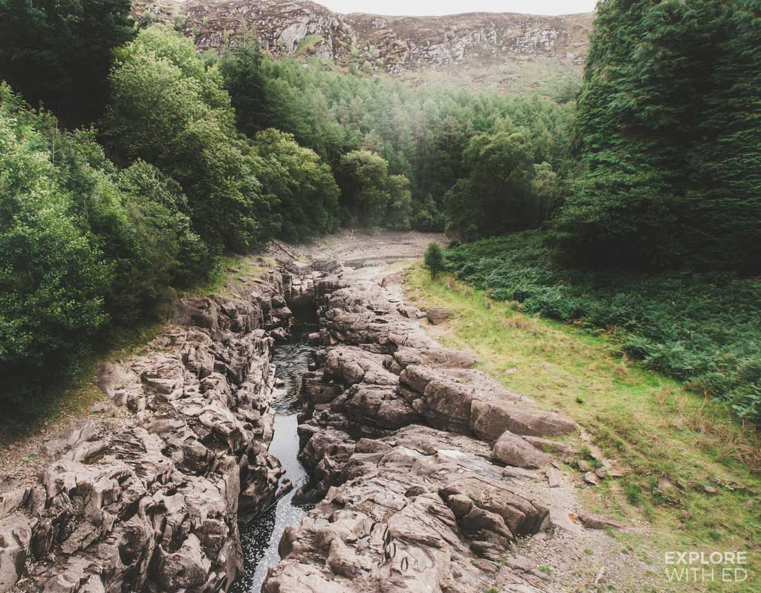 The Elan River Valley in Mid Wales