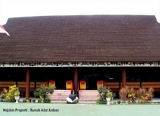 Desain Bentuk Rumah Adat Ambon dan Penjelasannya, Maluku, Indonesia