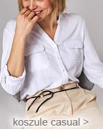 białe koszule damskie z kieszeniami casual