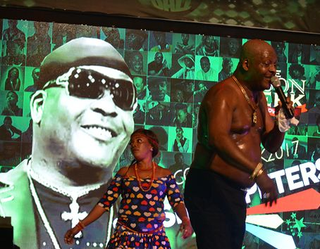 Shina Peters & Ras Kimono Get Guests Excited At COSON Green Ball