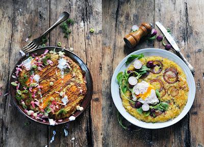 Et si finalement c'était plutôt l'année des röstis? Rösti à l'oignon rouge avec un œuf poché et des radis sur la tête...