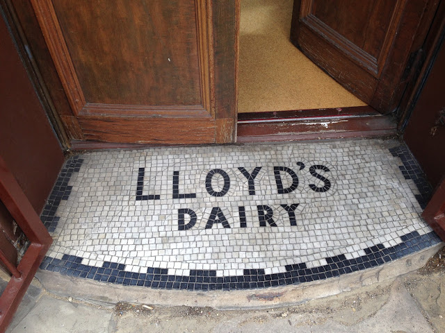 Doorway mosaic, Islington, London N1
