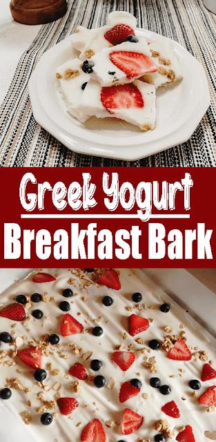 Greek #Yogurt #Breakfast Bark