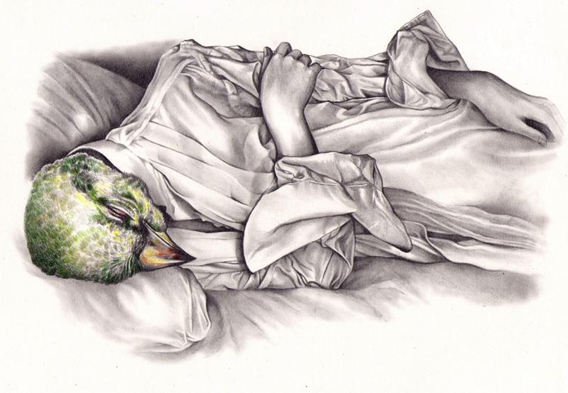 Kate Powell 1996 | British Realist/Symbolist painter