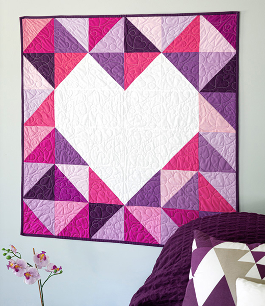 Inside Out Wall Hanging designed by Jenny of Missouri Quilt Co