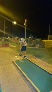 Hellas Mini Golf course in Lardos Village, Rhodes