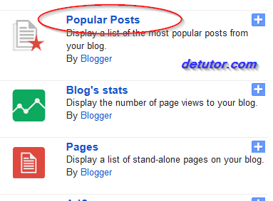 Updated Stylish Popular Posts Widget for blogger blog
