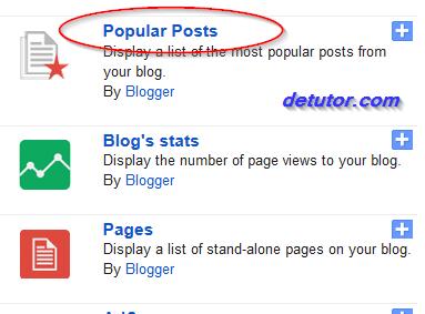 Updated Stylish Popular Posts Widget for blogger blog