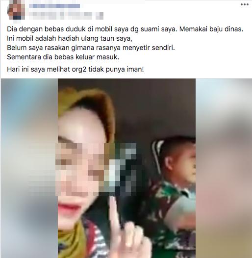 Curhatan Istri Ketika Suaminya 'anggota TNI' Nikah Siri dengan Pelakor yang bikin nyesek