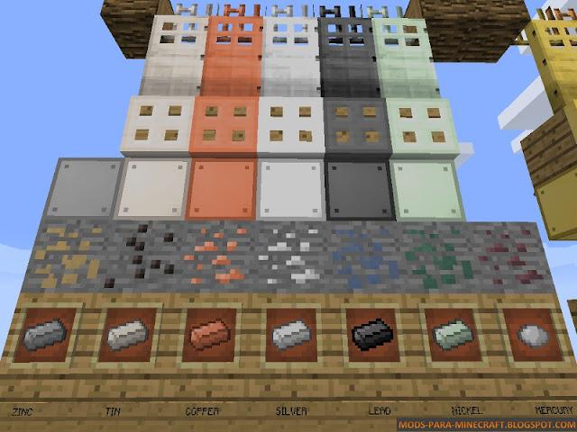 Imagen 2 - Base Metals Mod para Minecraft 1.8/1.8.9