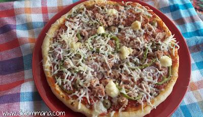 بيتزا ناجحة مئة بالمئة