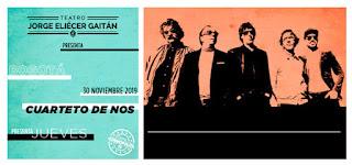 Concierto de CUARTETO DE NOS en Bogotá 2019