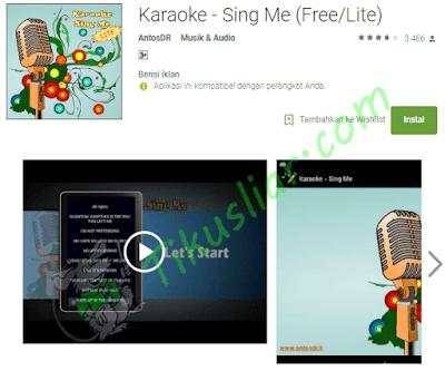 aplikasi karaoke android offline aplikasi karaoke android tanpa internet