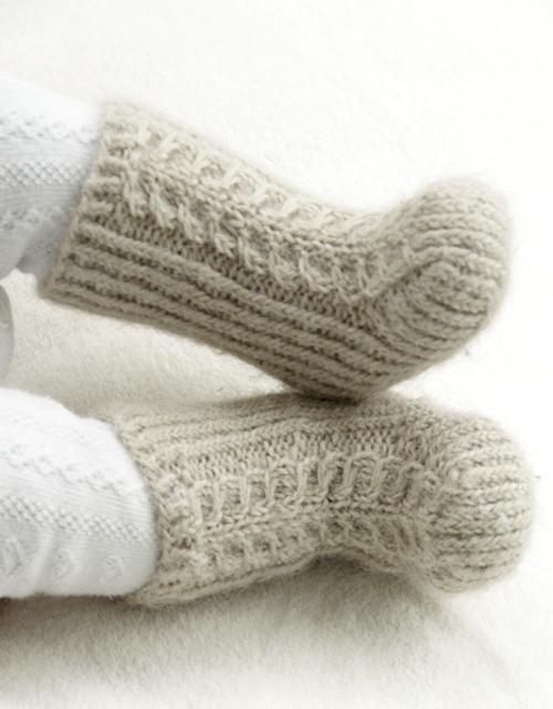 Mini Snow Boots - Free Pattern