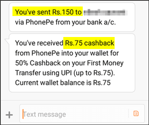 PhonePe Proof: