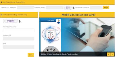 E-Okul Veli Bilgilendirme Ve Yönetim Bilgi Sistemi İle E-Okul Girişleri