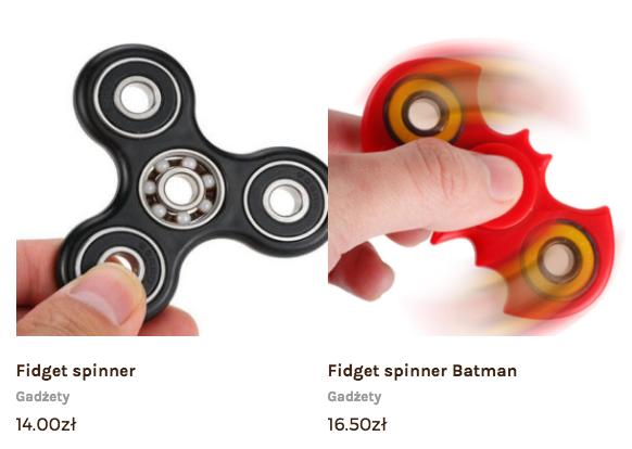 Fidget spinner wersja Batman sklep online