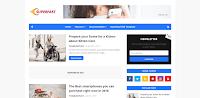 Superfast - Responsive Magazine Blogger Template free.