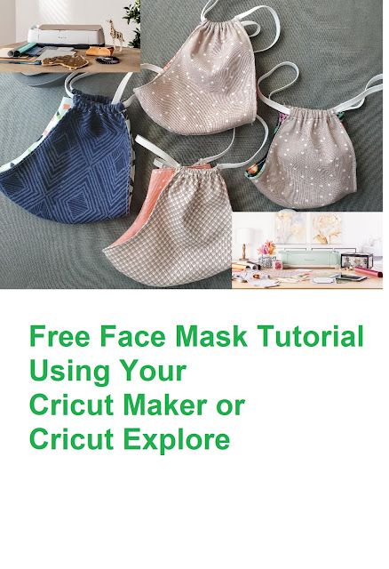 Make a Face Mask with Cricut