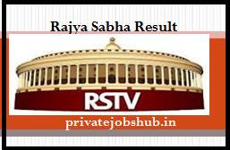 Rajya Sabha Result
