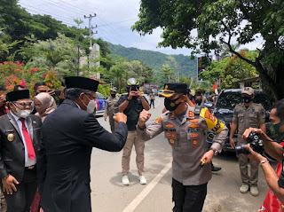HUT ke-61 Tahun Kabupaten Enrekang, Kapolres Enrekang Terjunkan 103 Personel