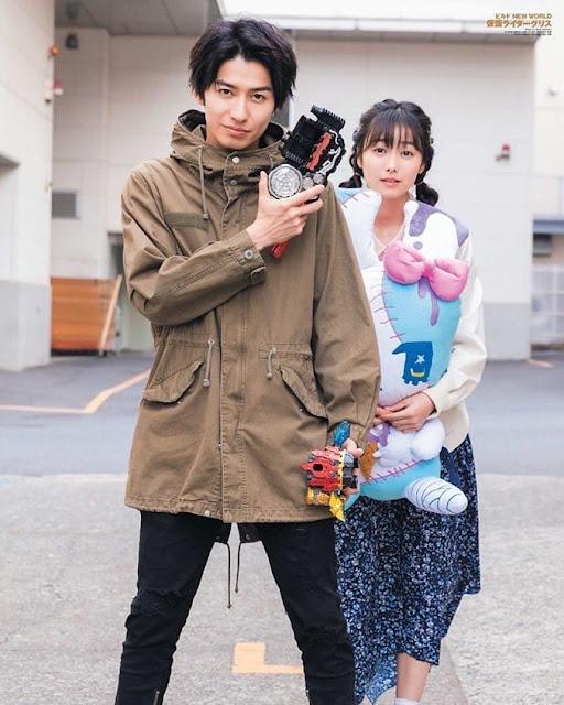 Build NEW WORLD: Kamen Rider Grease New Kazumin & Miitan Photo!