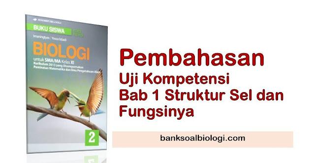 Jawaban Soal Uraian Biologi Bab 1 Sel, Buku Erlangga Kelas XI