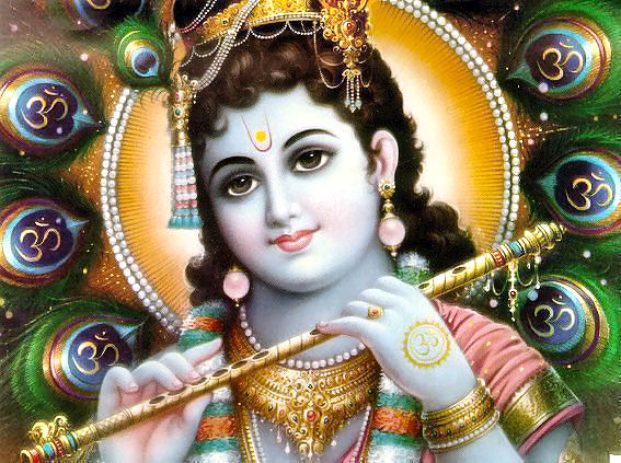 Lord Krishna With His Flute Wallpapers