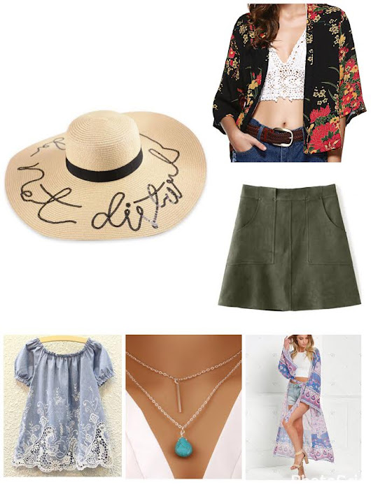 Ready for Festival / Thanks to Zaful & Rosegal