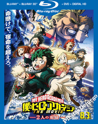 My Hero Academia: Two Heroes (2018) HD 1080P Latino