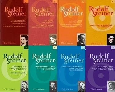 Rudolf Steiner Munkás előadások könyvsorozat