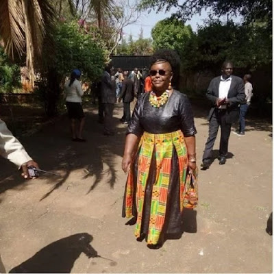 Millie Odhiambo in Church. PHOTO | FILE