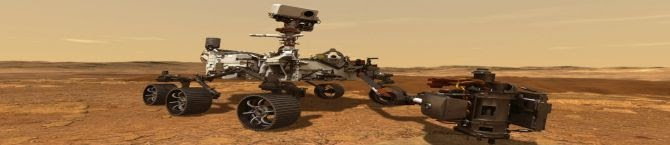 NASA's Perseverance Rover Makes Perfect Touchdown On Mars