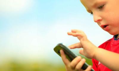 Uso correcto smartphone niños