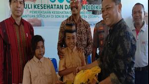 Peduli Pendidikan dan Kesehatan, PT. Dunia Mas Dompu Salurkan Bantuan Bagi Sekolah di Pajo