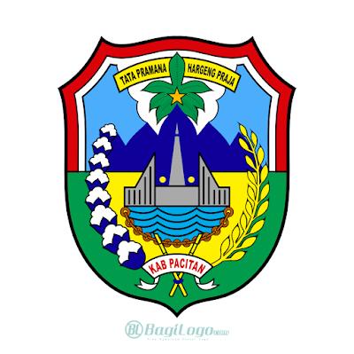 Kabupaten Pacitan Logo Vector