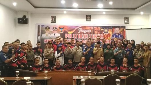 Ikuti Pendidikan dan Pelatihan Teknis, SDM Aparatur Damkar Kota Padang Ditingkatkan