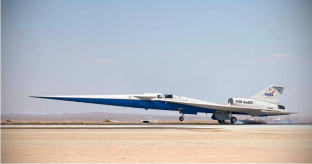 El jet súper silencioso X-59 de la NASA despejado para el ensamblaje final