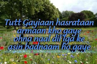 Hindi punjabi Shayari