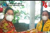dr Rinny Tamuntuan Serahkan Bantuan Langsung di Panti Disabilitas Gerasa Bitung