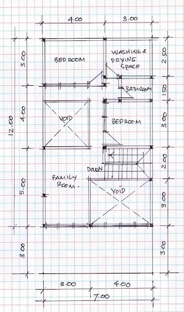2nd floor plan of home image 01